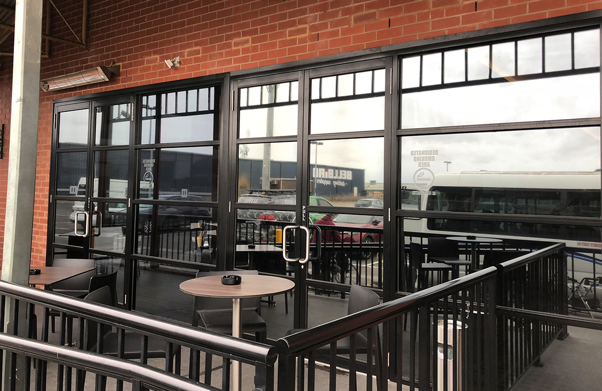 Commercial Windows Tint