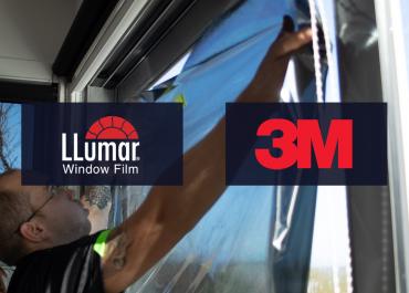3M and Llumar window film