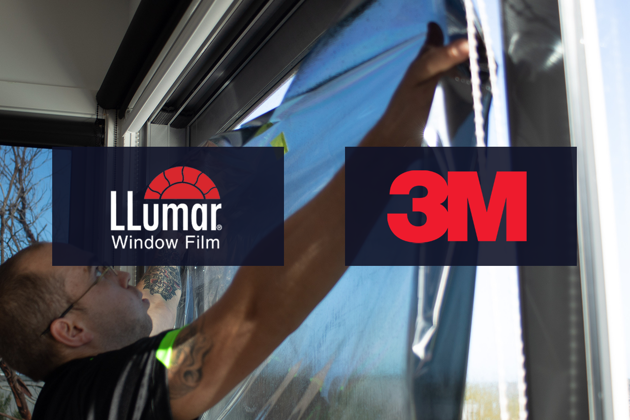 3M and Llumar window film